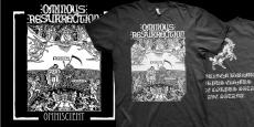 Ominous Resurrection - Omniscient - CD + SHIRT